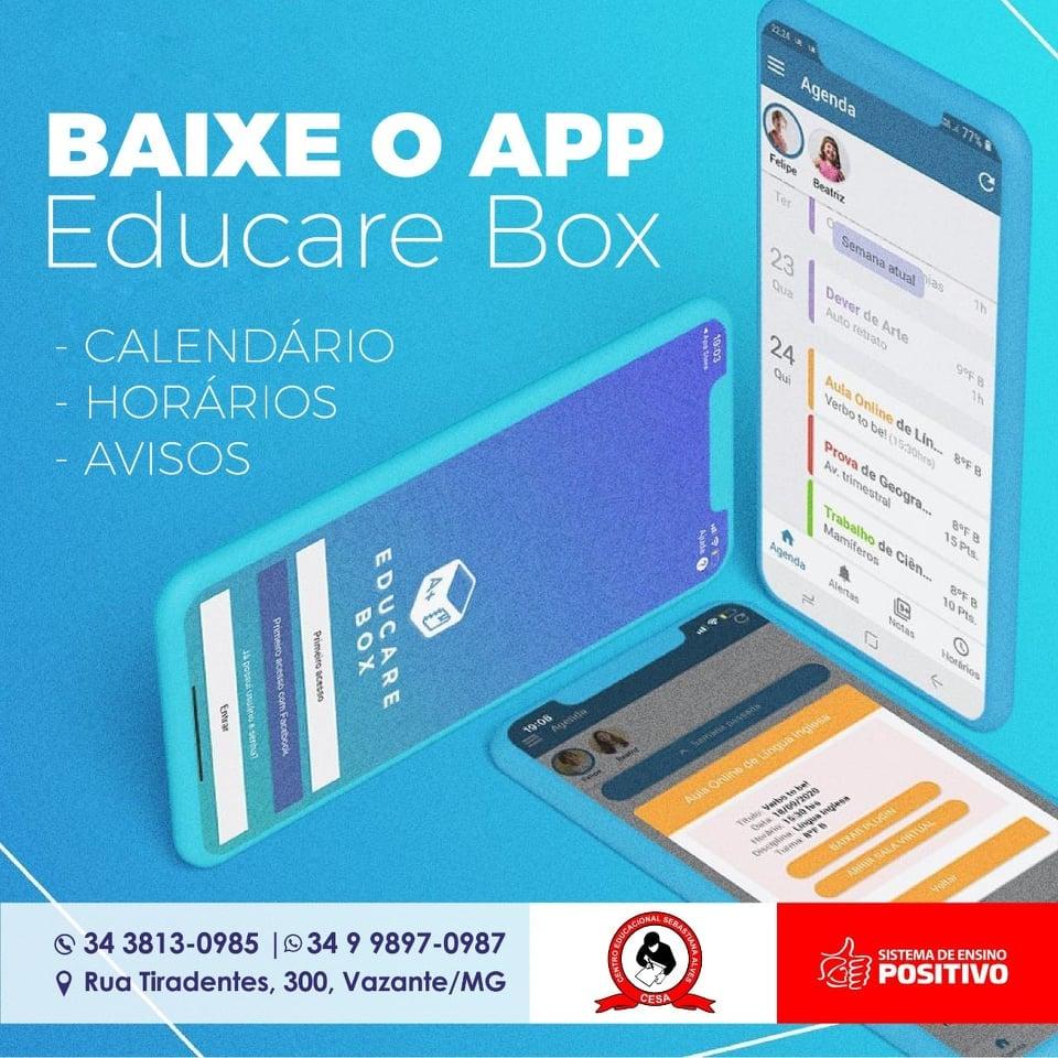 Colégio CESA disponibiliza novo aplicativo para alunos e pais